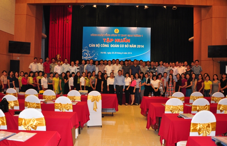 Tập huấn Công đoàn CIENCO1 năm 2014