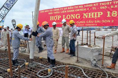 Hợp long cầu Sài Gòn 2 ( TP Hồ Chí Minh)