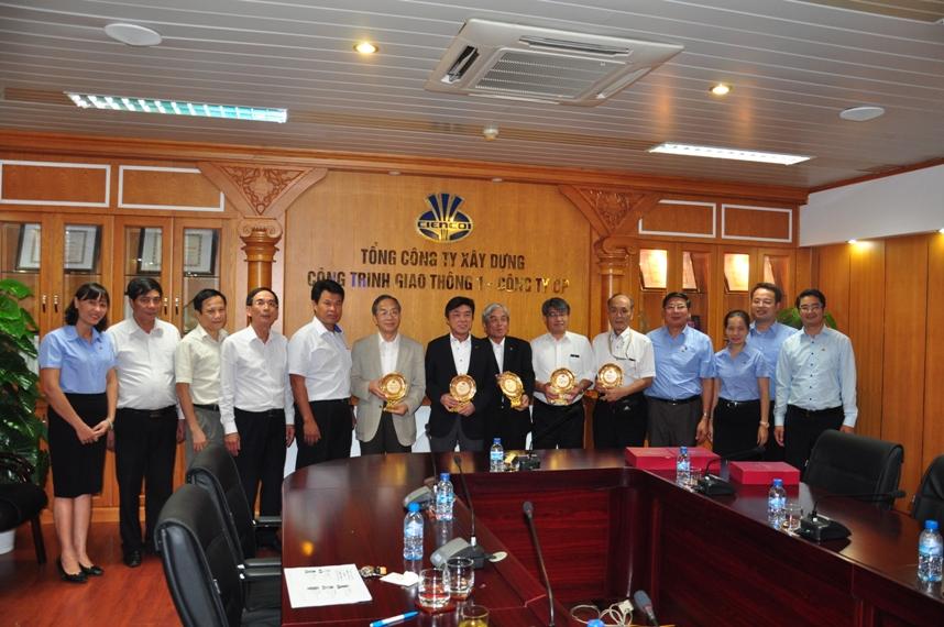 Công đoàn GTVT Nhật Bản thăm và làm việc với Công đoàn CIENCO1
