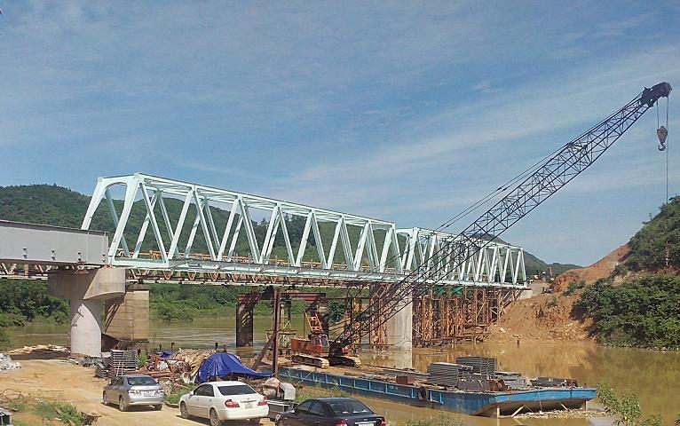 Cầu Cửa Rào ( Công ty CP XDCT1 thi công)