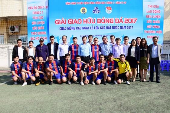 Khai mạc giải bóng đá Cienco1 năm 2017