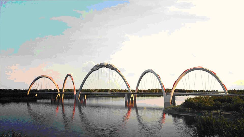 Khởi công cầu Phật tích - Đại Đồng Thành tại tỉnh Bắc Ninh - Tổng công ty Xây dựng công trình giao thông 1 - Công ty CP