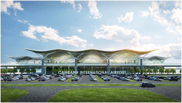 Phối cảnh nhà ga quốc tế Cam Ranh