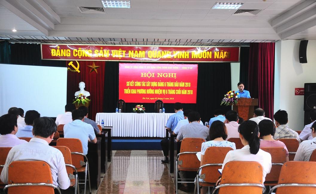 Hội nghị sơ kết công tác xây dựng Đảng
