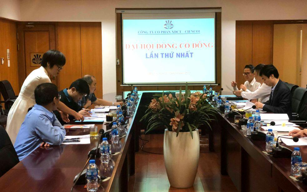 Đại hội đồng cổ đông Công ty CP XDCT-Cienco1