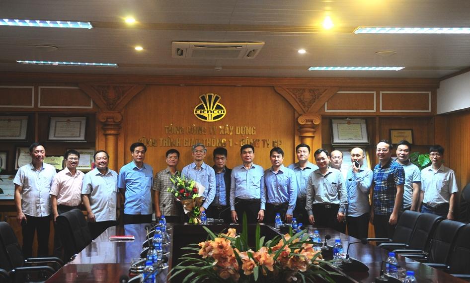 Công bố quyết định bổ nhiệm giám đốc Công ty TCCG1